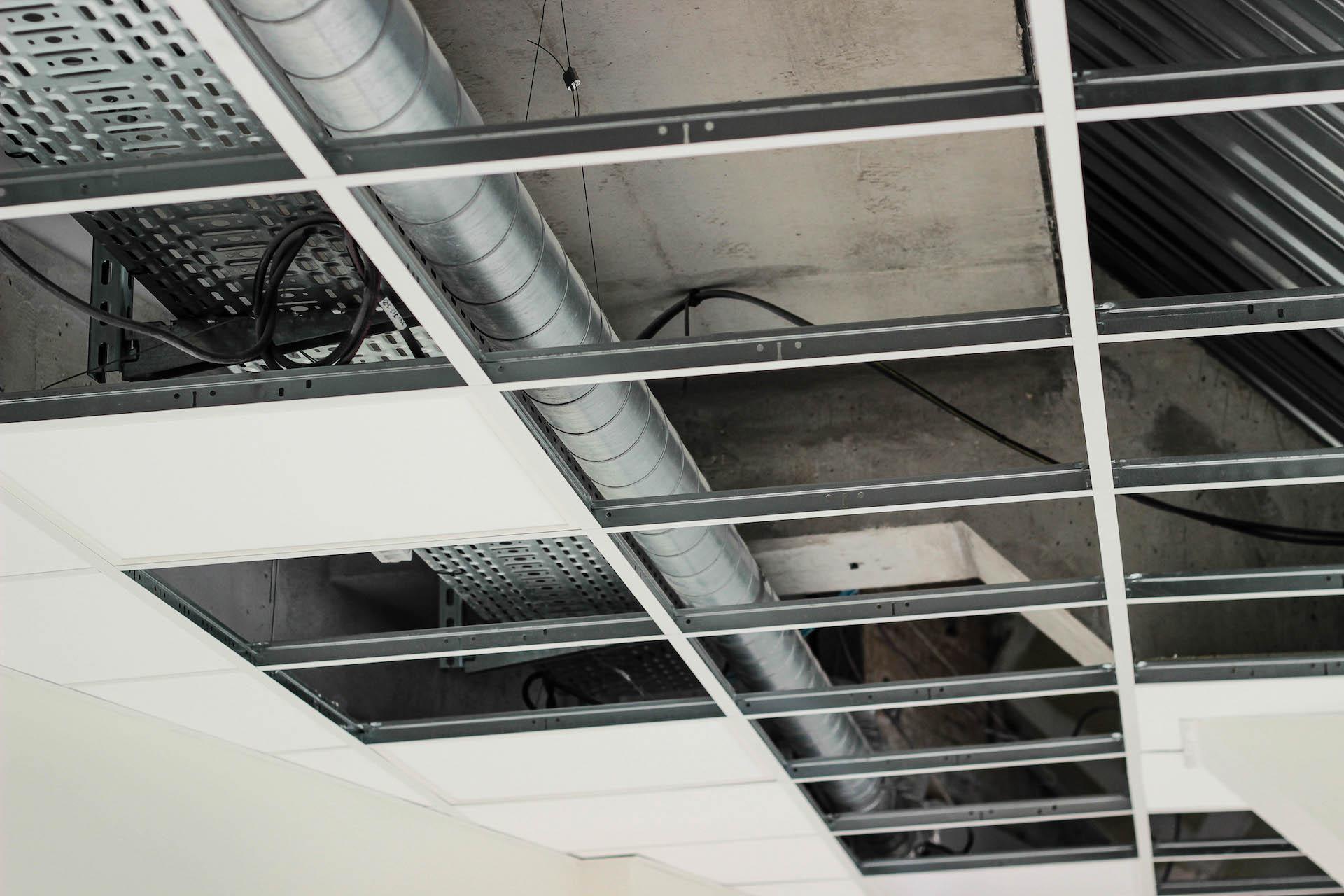 plafond demontable